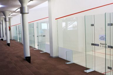 Motion Fitness Worcester Squash Courts