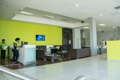 Motion Fitness East London Reception